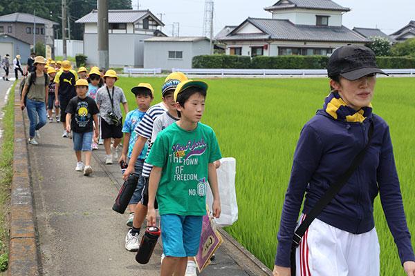 2.We are heading to Nanatsudo Park.
