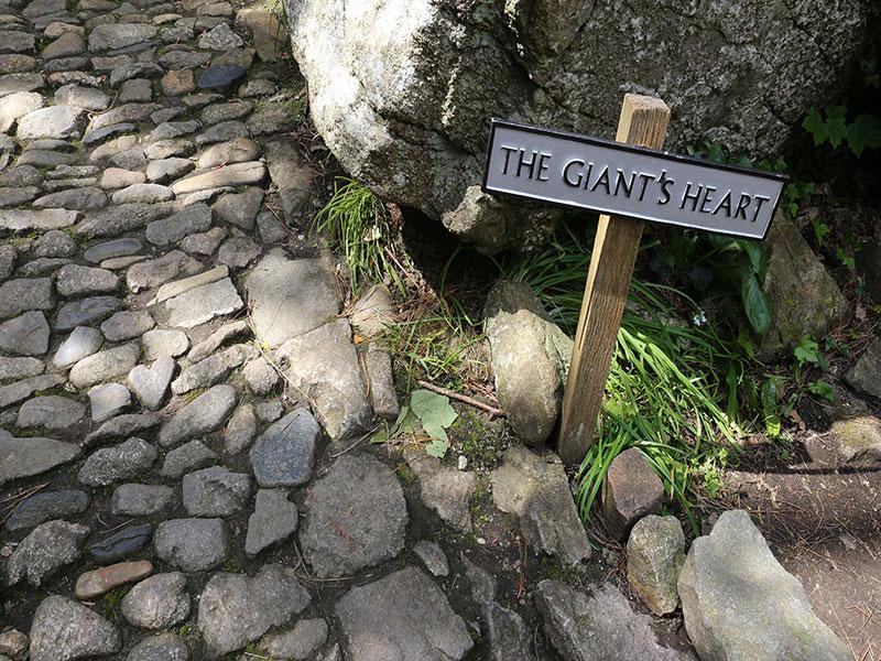 Cormelian Giant's Heart / St Michael's Mount, Marazion, Cornwall