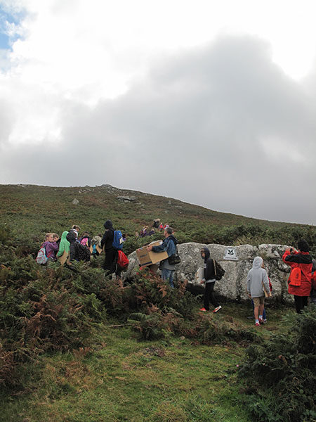 8. We are heading for the top of the hill to see Holiburn!